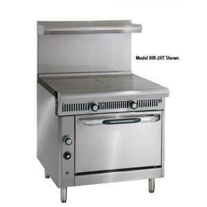 Imperial Ihr 2ht 36 In 2 Hot Top Diamond Series Gas Range W Standard Oven