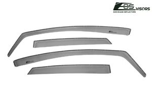 Eos Visors For 11 19 Ford Fiesta Sedan In Channel Side Sun Shade Rain Guards
