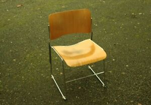 Vintage 40 4 David Rowland Wooden Classic Office Waiting Room Chair 40 41979
