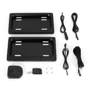 New Electric Stealth License Plate Frame Hide away Shutter Cover Up Remote