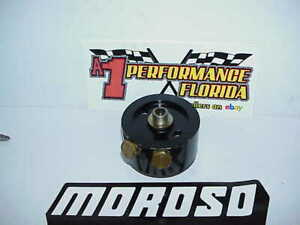 Moroso Billet Aluminum Oil Filter Accumulator Adapter 2369 Sb Bb Chevy