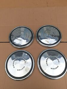 Vintage Ford Motor Company Dog Dish Poverty Hubcaps 10 1 2