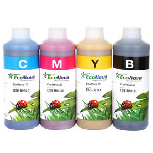 Compatible Bulk Eco Solvent Ink For Roland Eco Sol Max Set 4 Liter