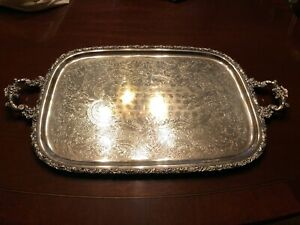 International Silver Large Serving Tray