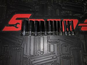 Snap On 112stmmy 1 4 Deep 5mm 15mm 12 Pc 6 Pt Metric Socket Set Stmm5 Stmm15