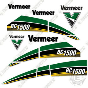 Vermeer Bc1500 Tier 4 Brush Chipper Decal Kit Bc 1500