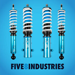 Five8 Industries Full Coilovers Height Adjustable For Volkswagen Golf 1985 1998
