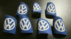 Vintage 1970 s Canvas Vw Volkswagen Bus Bug Beetle Karmann Ghia Patch Lot Of 7