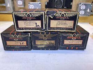 Vintage Jewell Electrical Instruments Co Guage Meter Boxes