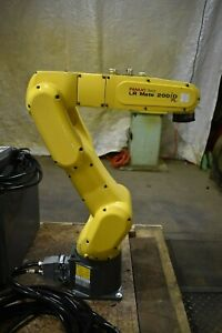 Fanuc Robot Lr Mate 200id 7l With R30ib Control Fully Tested 4813 Hours