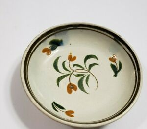 Antique Pearlware 3 1 2 Butter Pat Cup Saucer