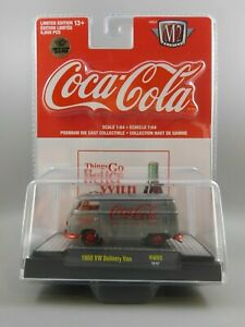 M2 Machines Raw Super Chase Coca-Cola 1960 VW Delivery Van 1 of 250 RW02 1:64