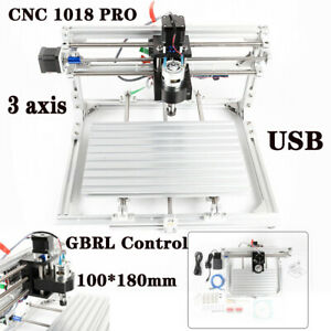 Cnc1018 Diy Woodworking Engraver Cutter Wood Engraving Metal Pcb Milling Machine