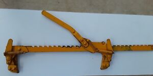 Dutton Lainson Co Nebraska Usa Patented 400 Fence Stretcher splicer