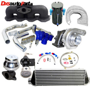Turbo Intercooler Kit Manifold For 93 01 Honda Prelude T3 Flange 2 2l H22a