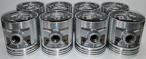 Packard 8 Cyl 288 C i 327 C i Pistons Rings 48 49 50 51 52 53 54 New Set