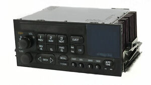 1996 Gmc Sierra 3500 Pickup Truck Radio Am Fm Option Code Un0