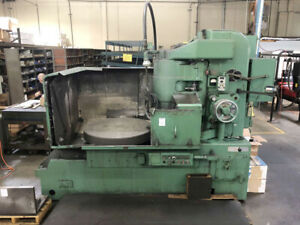 22 X 42 Chuck Blanchard 20 42 Rotary Surface Grinder