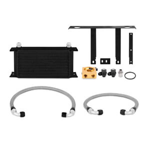 Mishimoto Oil Cooler Thermostatic Fits Hyundai Genesis Coupe 2 0t 2010 12 Black