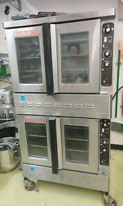 Blodgett Dfg 200 Bakery Depth Double Stack Full Size Gas Convection Ovens