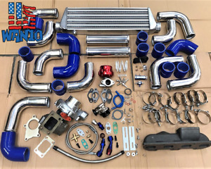 Turbo Kit With Manifold High Performance For 95 99 Eagle Talon 420a Dsm