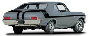 1970 Chevrolet Nova Yenko Deuce Stripe Set Black
