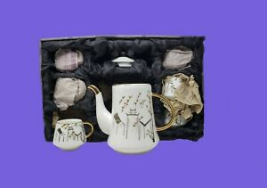 Kalandi Tea Set Thailand Japan Royal Bone China Vintage 1979