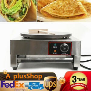 Commercial Nonstick Electric 16 Crepe Maker Machine Pancake Making 2 8kw Usa