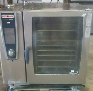 Rational Combi Oven Scc We 102 3 Phase 480v 30 Day Warranty Free Shipping