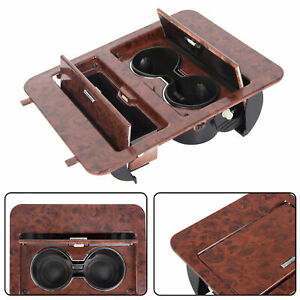 Woodgrain Center Console Cup Holder storage For Full Size Gmc Truck Suv 23164631