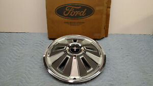 Rare Vintage 1966 Ford Mustang Nos Hubcap Fastback Coupe 2 2 Fomoco
