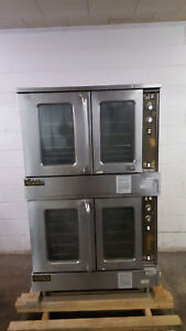 Southbend Marathoner Gold Natural Gas Gs20sc Double Stack Convection Oven Tested