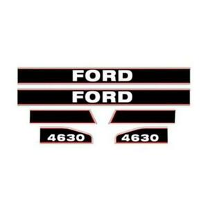 F4630 Hood Decal Set Fits Ford Fits New Holland Tractor 4630