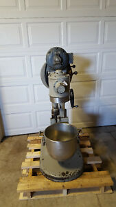 Hobart S 301 3 Speed Dough Mixer 30 Qt Paddle Bowl Hook Tested 230v 1 2 Hp