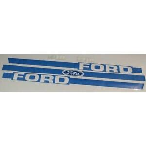 F1710 Hood Decal Set Fits Ford Fits New Holland 1710