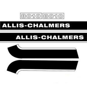 Ac8010 New Hood Decal Set Fits Allis Chalmers 8010 8030 8050 8070 Tractor