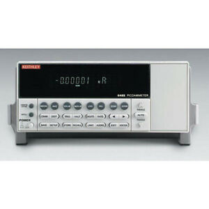 Keithley 6485 Single channel Picoammeter With Gpib Rs 232 Interfaces
