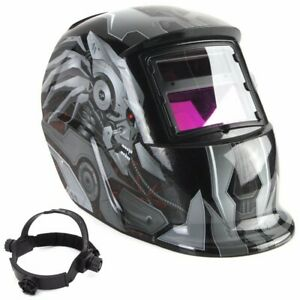 Solar Auto Darkening Welding Helmet Grinding Welder Adjustable Mig Arc