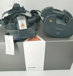 Heine Wireless Omega 500 Unplugged Binocular Indirect Ophthalmoscope New