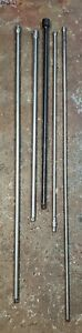 Snap On Extra Long Chrome Locking Impact 1 4 3 8 1 2 Drive Extension Set