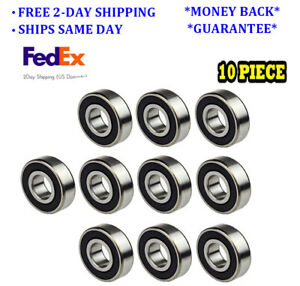 6004 2rs C3 Fit Premium Radial Ball Bearing 20x42x12 mm 10 Pieces