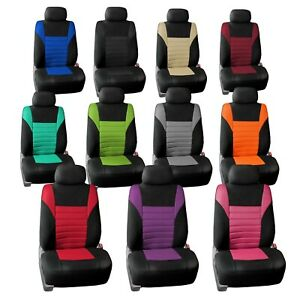 Car Seat Covers Premium 3d Air Mesh Front Set Universal Fit For Cars Auto Truck