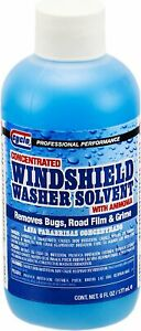 Cyclo C206 Concentrated Windshield Washer Solvent 24 6oz Bottles