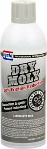 Cyclo Dry Moly Lubricant 10 25oz Pack Of 12