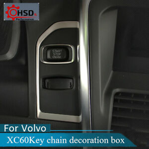 Stainless Steel Ignition Device Decoration Panel Key Hole Sequins For Volvo Xc60