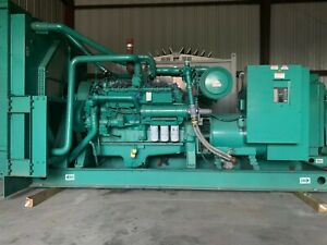 500 Kw Natural Gas Cummins Generator