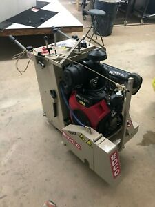 Edco Ss20 24h 20 24hp Concrete Saw Honda Engine Only 136hrs