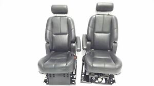 Pair Of Rear Bucket Seats Leather Oem 2008 Gmc Yukon