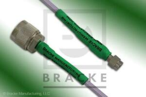 18 Ghz Ultra Precision N Male To Sma Male Cable 24 Bm95020 24