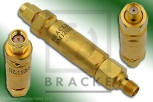 18 Ghz Adjustable Phase Trimmer Shifter Sma Male To Sma Female Bracke Bm12000